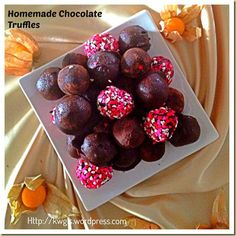 Homemade Chocolate Truffles - My Honeys Place