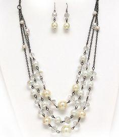 diseño de collar- bisutería abalorios y complementos de moda