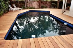 Hardwood Decks Custom Built and designed in the Los Angeles, CA.