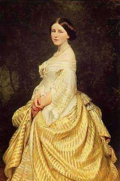 Stephanie of Hohenzollern-Sigmaringen (1837-1859)Queen of Portugal.   c.1860