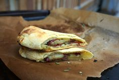 Grazed and Enthused | Rosemary + Prosciutto Stromboli [AIP-Friendly] hot pockets also good with blueberry pop tarts and bear claw recipes on Pinterest