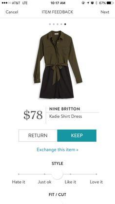 Nine Britton Kadie Shirt Dress