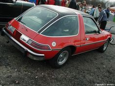 The AMC Pacer my first car. Mine was yellow and I loved it! Could really see good in this car.