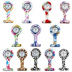 Hygienic Unisex Nurses Lapel Printed Pattern Silicone Cover Brooch Designs(12Pcs) - ABOUT LANCARDO Lancardo is a young trendy fashion watch band start at 2015, we specialized in design, development and produce all kinds of watches and watch accessories. we have excellent designers , experienced factory, passionate sales & customer service team. Our goal is that everyone can ...