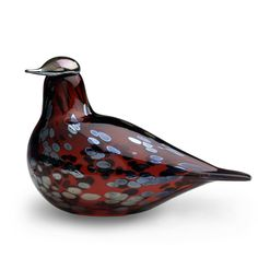 Birds by Toikka Ruby Bird Figurine by Iittala