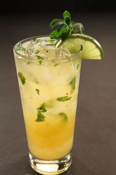 Mango Mojito at RA Sushi - Cruzan Estate Light rum hand muddled with fresh lime, sugar, soda & fresh mint make for a cool & refreshing cocktai...and mango, of course