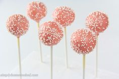 cake pops edited-26 - A bday - monitor melted topping frosting better & add more frosting to cake