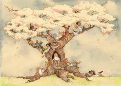 """""""The Reading Tree"""" By Aileen Leijten"""