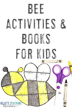These bee activities are great for the classroom or homeschool setting during the spring months of March, April, and May. Click through to find great ideas, activities, a FREE download, & more for your 1st, 2nd, 3rd, 4th, 5th, 6th, 7th, or 8th grade elementary or middle school students. You'll find math puzzles, an EDITABLE puzzle, bee book ideas, & more. (first, second, third, fourth, fifth, sixth, seventh, eighth graders, Year 1, 2, 3, 4, 5, 6, 7, 8) #Bees #Spring #HoJoTeaches Special Education Teacher, Math Teacher, Teaching Math, 5th Grade Classroom, Middle School Classroom, Bee Activities, Toddler Activities, Bee Book, Maths Puzzles