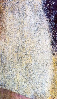 Mark Tobey (December 11, 1890 – April 24, 1976) Edge of August