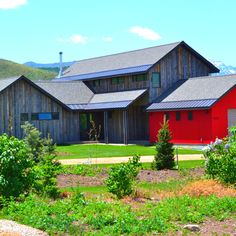 Midway farm house.
