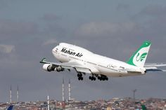 Mahan Air | Boeing 747-400 -private Iranian airline.