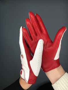Check out this item in my Etsy shop https://www.etsy.com/listing/570215344/womens-leather-driving-gloves-ladies