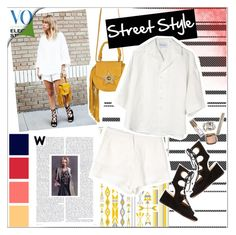 """""""SUMMER STREET STYLE"""" by chocolate-addicted-angel ❤ liked on Polyvore"""