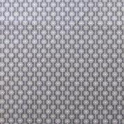 """Ellen Luckett Baker Framework Canvas - Daisy Chain (Grey) 15% Linen/85% Cotton, canvas, 44/45"""" wide"""