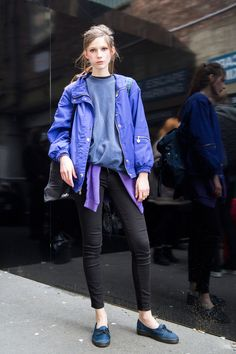 Scouting Standout Street Style at London Fashion Week Street Style from London Fashion Week Fall 2016 Street Style Chic, Street Style 2016, Looks Street Style, Autumn Street Style, Cool Street Fashion, La Fashion Week, Love Fashion, Girl Fashion, London Fashion