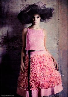Editorial by #SophieEtchart for SStyle Fashion magazine #Chanel #HauteCouture