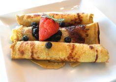 Dagens proteinlunsj! Næringsrike og sunne pannekaker som metter godt på en god måte! Oppskriften...