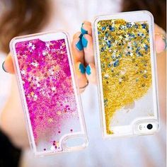 Liquid Glitter Water Sparkly Stars Bling Case Cover for iPhone 5 5S 6 & 6 Plus in Cell Phones & Accessories, Cell Phone Accessories, Cases, Covers & Skins | eBay