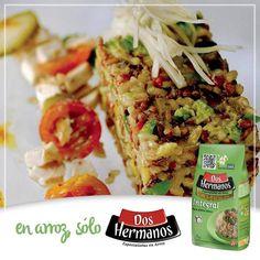 #Tartar de #arroz #integral con salteado de pollo. #TartardeArroz #ArrozIntegral #SinTACC #Celiacos  Ingredientes 2 tazas de arroz integral hervido Dos Hermanos 1 diente de ajo  1 cebolla  1 pimiento  2 pepinos  ½ taza de queso crema  1 limón  Albahaca fresca  1 taza de nueces  2 supremas de pollo  1 taza de tomates cherry  1 bulbo de hinojo  Aceto balsámico  Preparación: https://www.facebook.com/179280278814862/photos/a.179294408813449.44584.179280278814862/815812681828282/?type=1&theater
