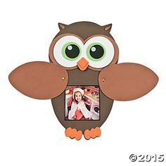 Owl Peek-A-Boo Picture Frame Craft Kit