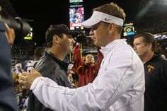 Former USC HC Steve Sarkisian's joining Alabama. Could he follow Lane Kiffin as OC? - http://wp.me/p59zQO-7Ys
