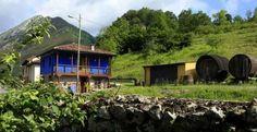 Aguas del Sella (Asturias) Casa Rural Romantica.Axtur con X de Asturias.