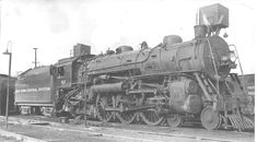 """Stephen Phillips-Steam Locomotive Photographs 13 June 2018   New York Central …. well the tender says New York Central System … the low number and the fine print """"P&E"""" … says that this 4-6-2 is on the Peoria & Eastern ,.... No.62 , at Peoria Ill . 9-3-1948 … R.D.Patton collection... New York Central, Steam Engine, Steam Locomotive, Train Tracks, Trains, Photographs, June, Nyc, Number"""