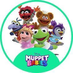 1st Birthday Themes, Birthday Images, Diy Birthday, 1st Birthday Parties, Muppet Babies, Disney Junior, Baby Disney, Baby Invitations, Kids Shows