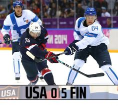 Granlund & Finland win the Bronze Medal by defeating #TeamUSA 5-0. #Sochi2014 #mnwildinSochi
