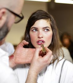 3 Game-Changing Makeup Tricks We Learned Backstage at Michael Kors via @byrdiebeauty