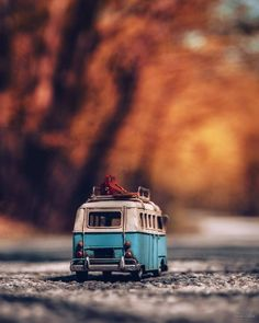 Tilt Shift Photography, Cute Photography, Vintage Photography, Vw Bus, Volkswagen, Rodan And Fields Reverse, Miniature Photography, Miniature Cars, Photoshop