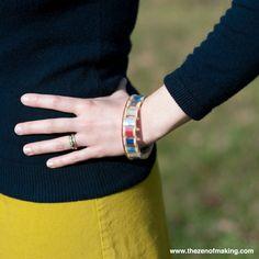 Resin thread and bobbin bracelet / 15 situaciones con las que los crafters pueden identificarse
