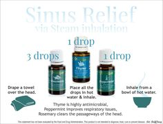 Use this combo to relieve blocked sinuses