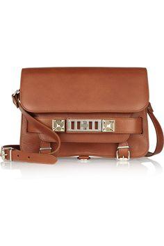 Proenza Schouler|PS11 Classic textured-leather shoulder bag|NET-A-PORTER.COM