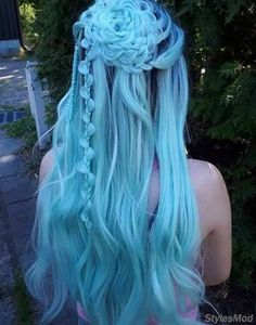 10 cool crazy hair color ideas # cool # hair color # ideas # crazy – modern - New Site Hair Color 2018, Pretty Hair Color, Dull Hair, Pretty Hairstyles, Latest Hairstyles, Teen Hairstyles, Casual Hairstyles, Medium Hairstyles, Braided Hairstyles