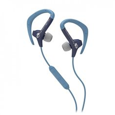 Skullcandy Chops In-Ear Headphones, Navy/Light Blue. For sweaty workouts!