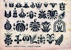 """Hungarian Embroidery Pattern Képtalálat a következőre: """"istenanya motívum"""" - Chain Stitch Embroidery, Embroidery Stitches, Embroidery Patterns, Hungarian Embroidery, Folk Embroidery, Pattern Art, Pattern Design, Stitch Head, Guache"""