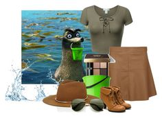 """""""Gerald -Finding Dory"""" by awesome-antoinette ❤ liked on Polyvore featuring Disney Pixar Finding Dory, Dorothy Perkins, Bobbi Brown Cosmetics and Janessa Leone"""