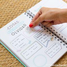 Agenda Mr Wonderful #mrwonderful #mrwonderfulshop #agenda #agendawonder #agendaswonder #diary