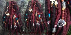 Wool dreads for Kaity