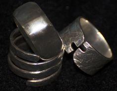 trio Cufflinks, Accessories, Silver, Jewelery