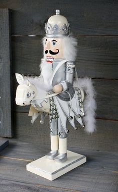 Vintage Nutcracker With Horse by NanasAtticFairy on Etsy Nutcracker Decor, Nutcracker Sweet, Nutcracker Soldier, Nutcracker Christmas, Christmas Love, A Christmas Story, Christmas Holidays, Christmas Crafts, Christmas Decorations