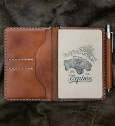 "BEXAR Goods Co.   ""Our Field Notes Wallet, a staple for every day carry…"