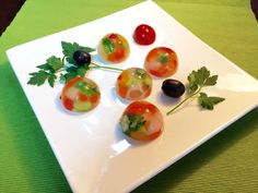 Recommended for Xmas parties! Photogenic and simple cooking ♡ - Trend Appetizer Fine Dining 2019 Wine Appetizers, Appetizer Plates, Fusion Food, Sweets Recipes, Raw Food Recipes, Pho, Food Carving, New Cooking, Food Trays