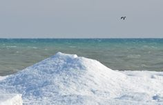 Ice Volcanoes at Presqu'ile Provincial Park (Photo Credit: Chelsea McPherson) Ontario Parks, Park Photos, Volcanoes, Winter Activities, Brighton, Photo Credit, Skiing, Chelsea, Canada