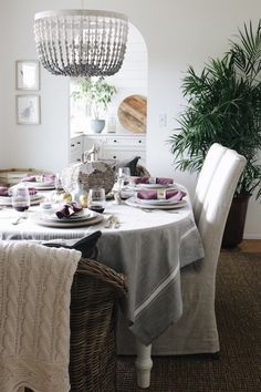 Fall Dining Room: Fa