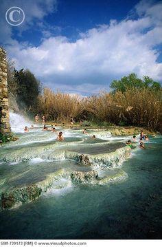 Hot Springs, Saturnia, Italy