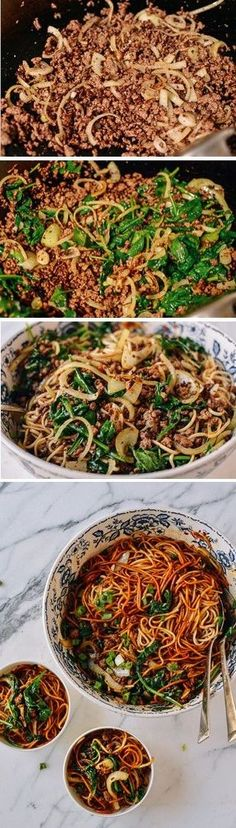 This lazy noodles recipe is the answer to your prayers for an easy dinner. These Lazy Noodles really do come together to eat in only 15 minutes! New Recipes, Cooking Recipes, Healthy Recipes, Recipies, Easy Mince Recipes, Minced Beef Recipes Easy, Easy Asian Recipes, Mexican Recipes, Asian Cooking