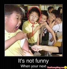 It's really not funny When you're next ! - by Repinly.com This literally made me LOL